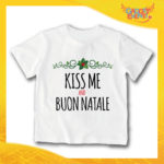 "T-Shirt Bimbo ""Kiss Me and Buon Natale"""